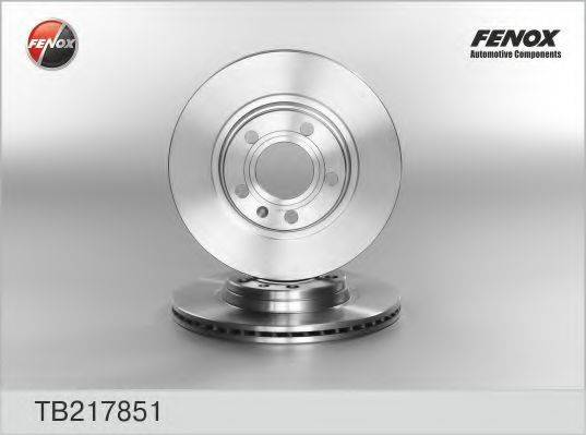 FENOX TB217851 Тормозной диск