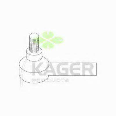 KAGER 430544 Наконечник поперечной рулевой тяги