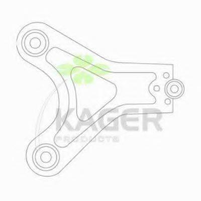 KAGER 870326 Рычаг независимой подвески колеса, подвеска колеса