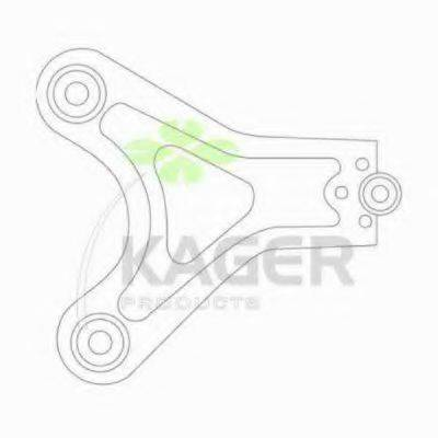 KAGER 870662 Рычаг независимой подвески колеса, подвеска колеса