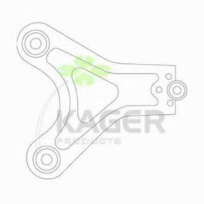 KAGER 870663 Рычаг независимой подвески колеса, подвеска колеса