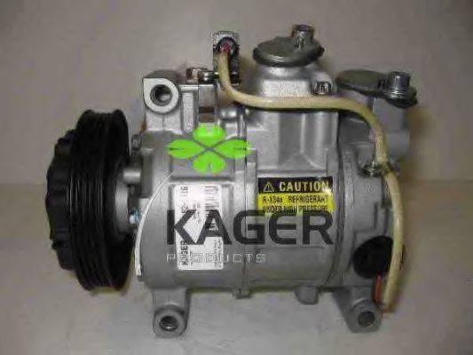KAGER 920416 Компрессор, кондиционер