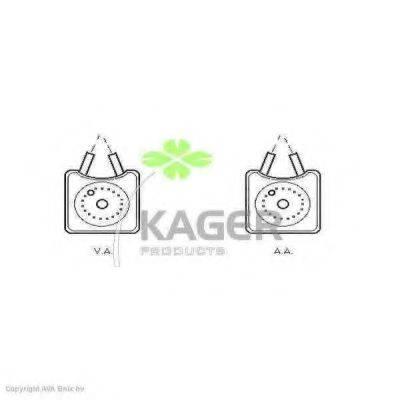 KAGER 311229 масляный радиатор, двигательное масло