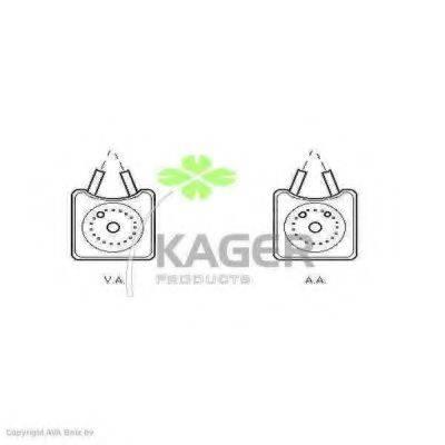 KAGER 311230 масляный радиатор, двигательное масло