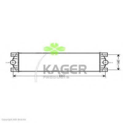 KAGER 314030 Интеркулер