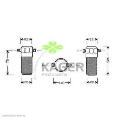 KAGER 945019 Осушитель, кондиционер