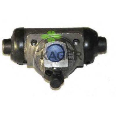 KAGER 394337 Колесный тормозной цилиндр