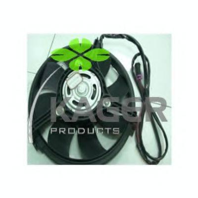 KAGER 322025 Вентилятор, охлаждение двигателя
