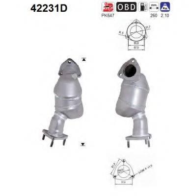 AS 42231D Катализатор