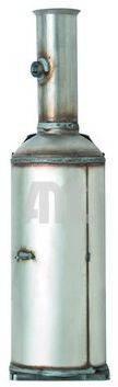 AMC A16909 Сажевый / частичный фильтр, система выхлопа ОГ