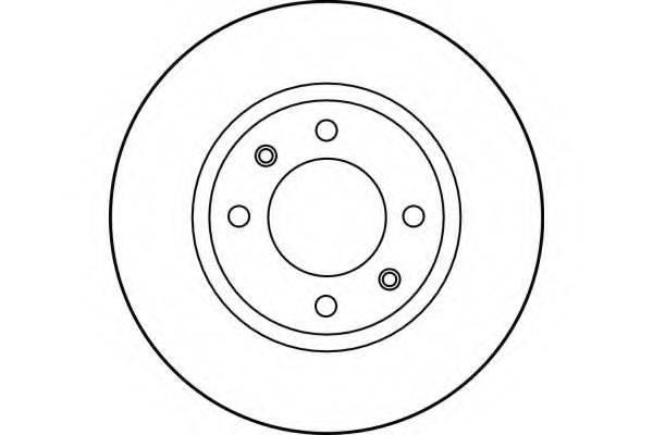 GIRLING 6012163 Тормозной диск