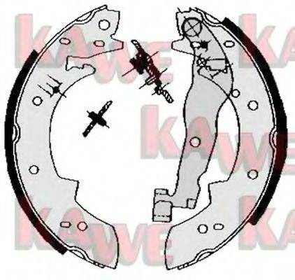 KAWE 03330 Комплект тормозных колодок