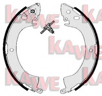 KAWE 05240 Комплект тормозных колодок