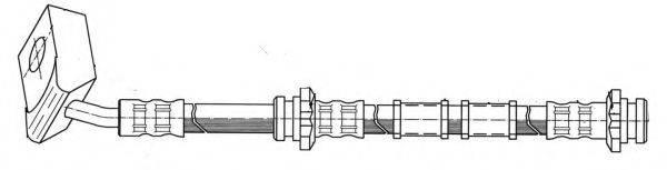 KAWE 510787 Тормозной шланг
