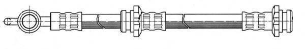 KAWE 510681 Тормозной шланг