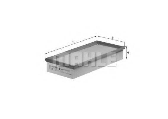MAHLE ORIGINAL LX572 Воздушный фильтр