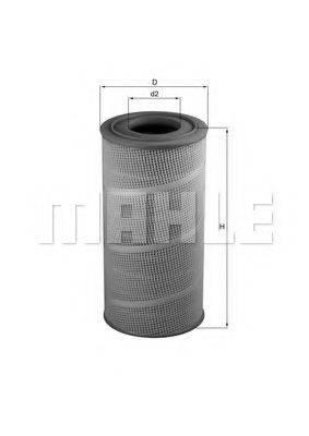 MAHLE ORIGINAL LX619 Воздушный фильтр