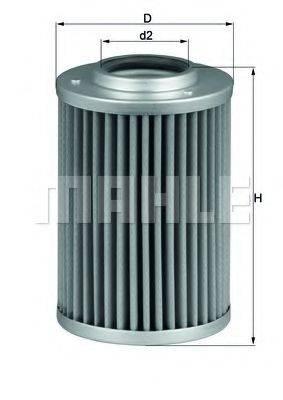 MAHLE ORIGINAL HX40 Гидрофильтр, автоматическая коробка передач
