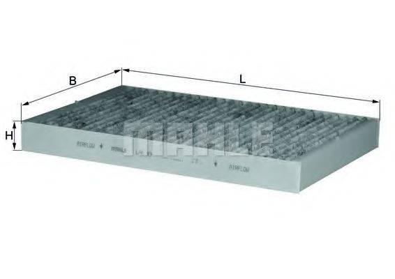MAHLE ORIGINAL LAK93 Фильтр, воздух во внутренном пространстве