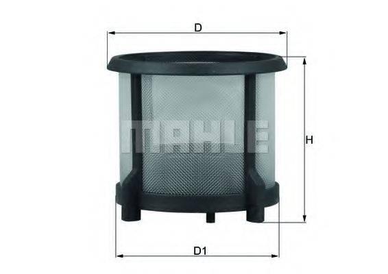 MAHLE ORIGINAL KX72D1 Топливный фильтр