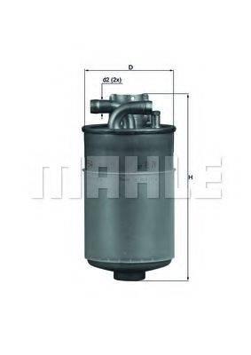 MAHLE ORIGINAL KL154 Топливный фильтр