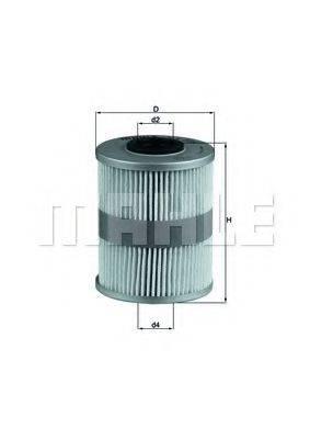 MAHLE ORIGINAL KX206D Топливный фильтр