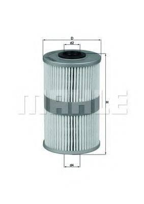 MAHLE ORIGINAL KX204D Топливный фильтр