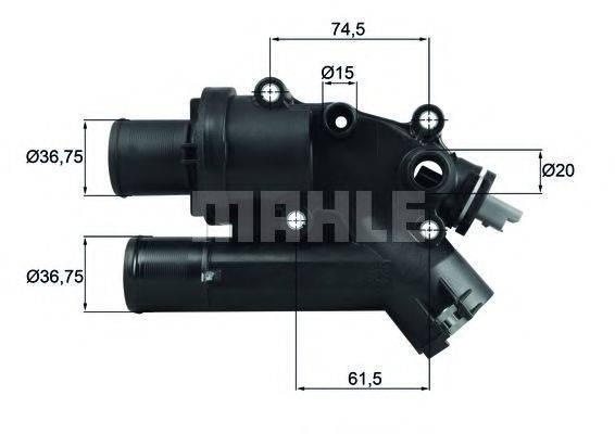 MAHLE ORIGINAL TH4683 Термостат, охлаждающая жидкость