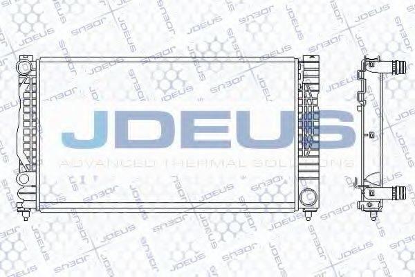 JDEUS 001M06 Радиатор, охлаждение двигателя