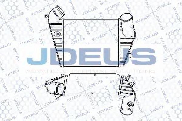 JDEUS 801M01 Интеркулер