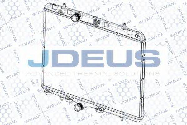 JDEUS RA0210350 Радиатор, охлаждение двигателя