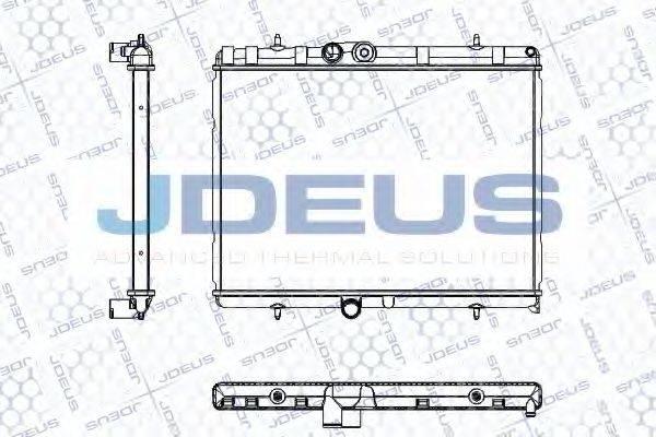 JDEUS RA0210380 Радиатор, охлаждение двигателя