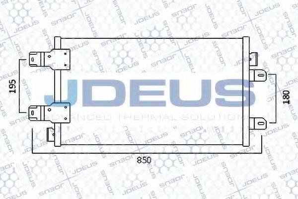 JDEUS 723M89 Конденсатор, кондиционер