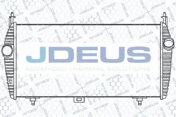 JDEUS 807M45A Интеркулер