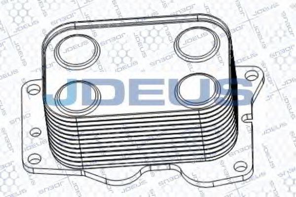 JDEUS 412M26 масляный радиатор, двигательное масло