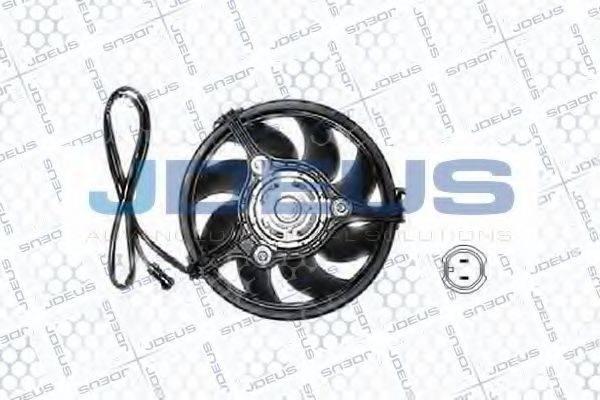 JDEUS EV010163 Вентилятор, охлаждение двигателя