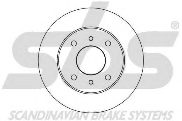 SBS 1815202215 Тормозной диск