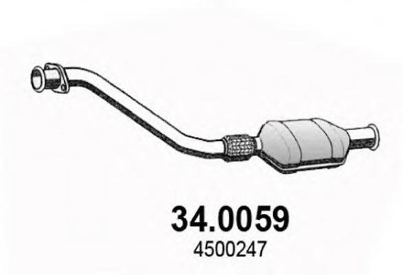 ASSO 340059 Катализатор