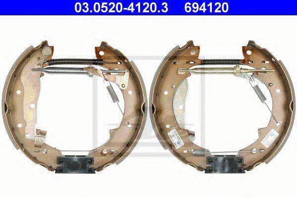 ATE 03052041203 Комплект тормозных колодок