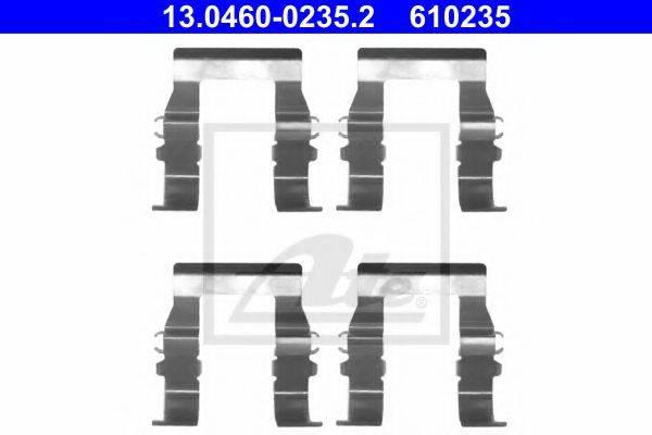 ATE 13046002352 Комплектующие, колодки дискового тормоза