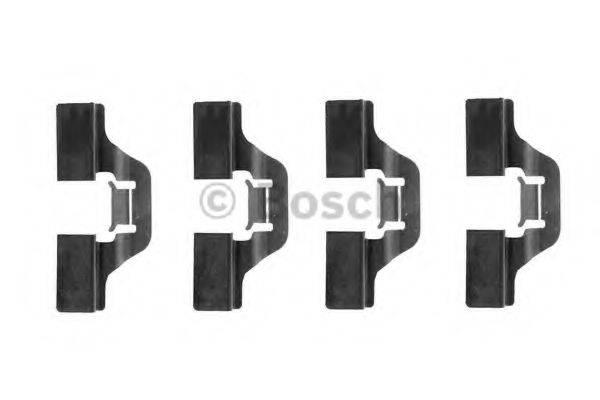 BOSCH 1987474253 Комплектующие, колодки дискового тормоза