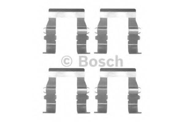 BOSCH 1987474325 Комплектующие, колодки дискового тормоза
