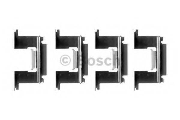 BOSCH 1987474347 Комплектующие, колодки дискового тормоза