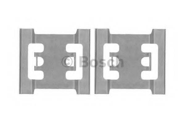 BOSCH 1987474437 Комплектующие, колодки дискового тормоза