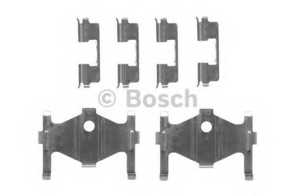 BOSCH 1987474448 Комплектующие, колодки дискового тормоза