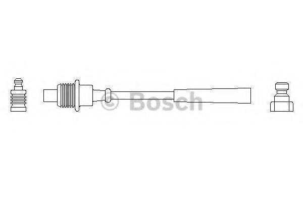 BOSCH 0986356065 Провод зажигания