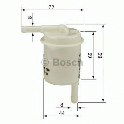BOSCH 0986450016 Топливный фильтр