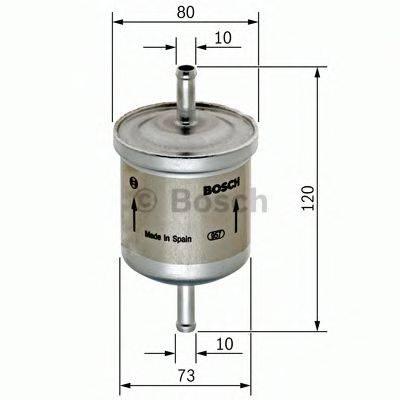 BOSCH 0986450150 Топливный фильтр