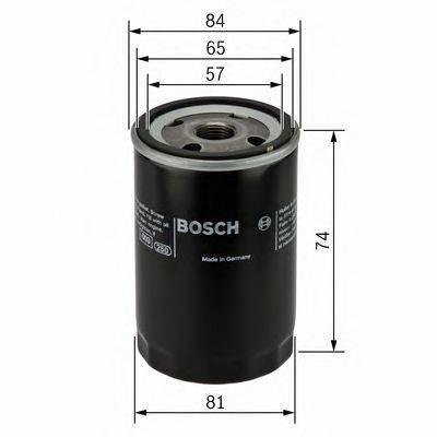 BOSCH 0986452016 Масляный фильтр