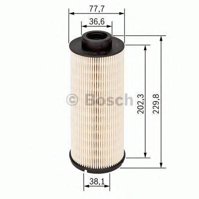 BOSCH 1457431710 Топливный фильтр